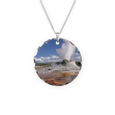 YELLOWSTONE CASTLE GEYSER Necklace