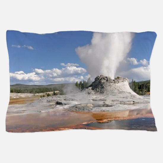 YELLOWSTONE CASTLE GEYSER Pillow Case