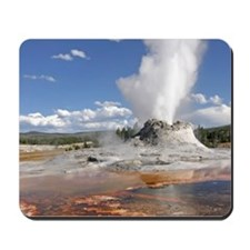 YELLOWSTONE CASTLE GEYSER Mousepad