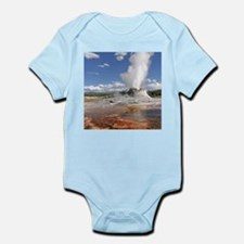 YELLOWSTONE CASTLE GEYSER Body Suit