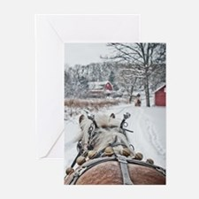 Cool Horse christmas Greeting Cards (Pk of 20)