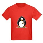 Autism Penguin Kids Dark T-Shirt