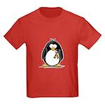 Autism Penguin Kids Dark T-Shirt