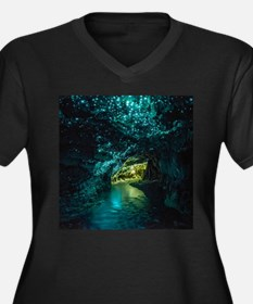 WAITOMO GLOWWORM Plus Size T-Shirt