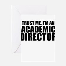 Trust Me, I'm An Academic Director Greeting Ca