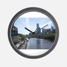 Melbourne Yarra River Wall Clock