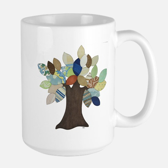 Silver Tree Large Mug