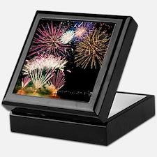 Cute Fireworks Keepsake Box
