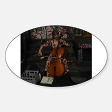 Cello Busker Decal