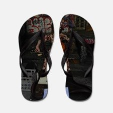 Cello Busker Flip Flops