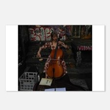 Cello Busker Postcards (Package of 8)