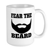 Beard Large Mugs (15 oz)