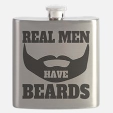 Real Men Have Beards Flask