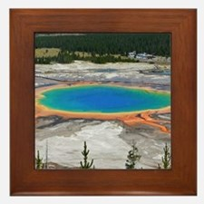 GRAND PRISMATIC SPRING Framed Tile