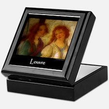 Scenes From the Louvre Keepsake Box