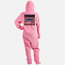 GRAND PRISMATIC SPRING Footed Pajamas