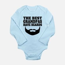 The Best Grandpas Have Beards Body Suit