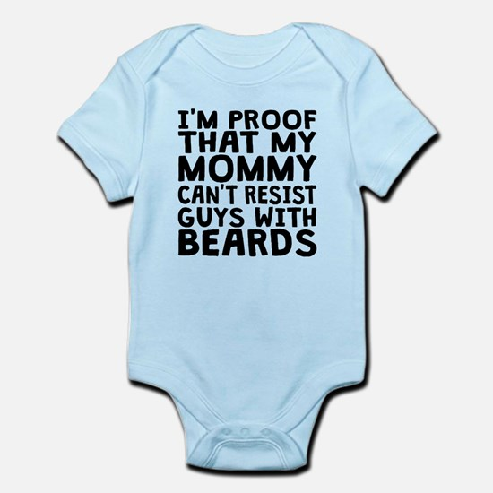 Mommy Cant Resist Guys With Beards Body Suit