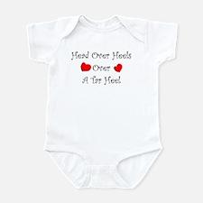 Head over heels Infant Bodysuit