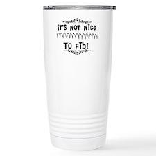 Cardiac V-Fib Humor Travel Mug