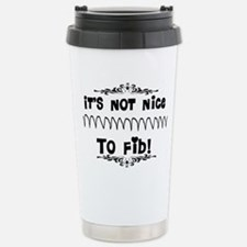 Cardiac V-Fib Humor Travel Mug
