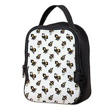 PATRIOTIC CROWS Neoprene Lunch Bag