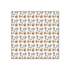 """PUPS-N-PAWS Square Sticker 3"""" x 3"""""""