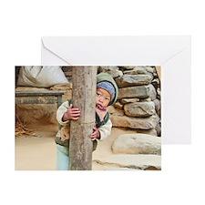 Kids 2 Greeting Card
