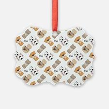 PUPS-N-PAWS Ornament