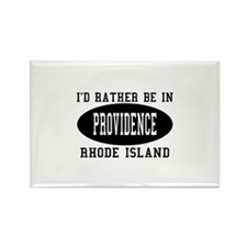 I'd Rather Be in Providence, Rectangle Magnet