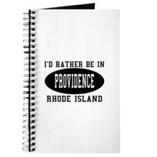 I'd Rather Be in Providence, Journal