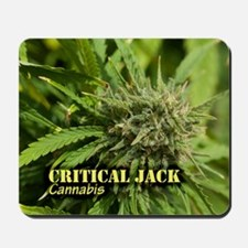 Critical Jack (with name) Mousepad