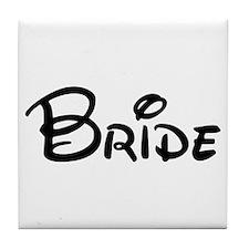 CBB Bride's Tile Coaster