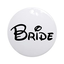 CBB Bride's Ornament (Round)