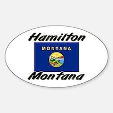 Hamilton Montana Oval Decal