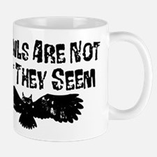 Owls Not What They Seem Mugs