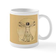 """Da Vinci """"Vitruvian Man"""" Mug"""