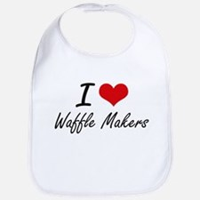 I love Waffle Makers Bib