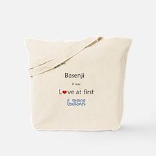 Basenji Lick Tote Bag