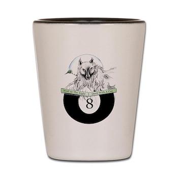 8 Ball Billiard Wolf by OTC Billaird Designs Originals