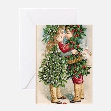Vintage Christmas Image 3 Greeting Card