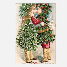 Vintage Christmas Image 3 Postcards (Package of 8)