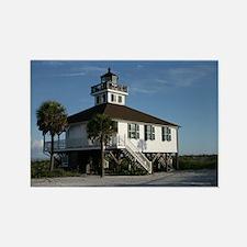 Cute Boca grande lighthouse Rectangle Magnet