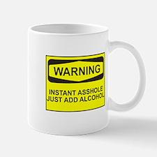Warning instant asshole Mug
