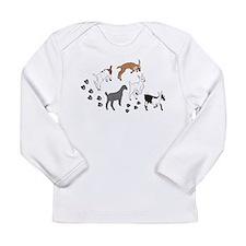 Funny Boer Long Sleeve Infant T-Shirt