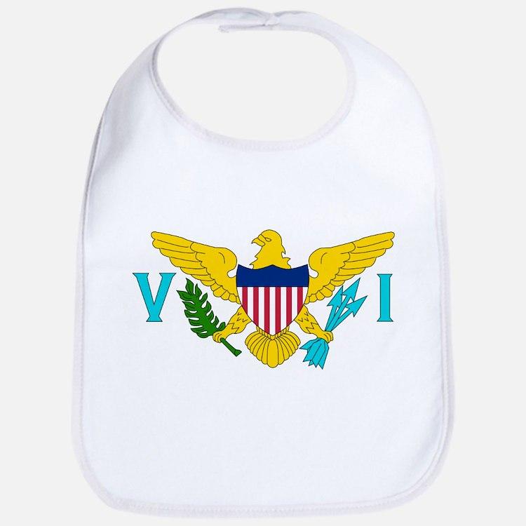 United States Virgin Islands Bib