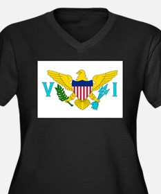 United States Virgin Islands Plus Size T-Shirt