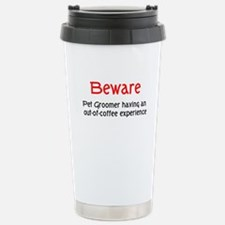 Cute Cat groomer Travel Mug