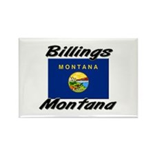 Billings Montana Rectangle Magnet