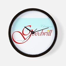 Goodwill Star Wall Clock